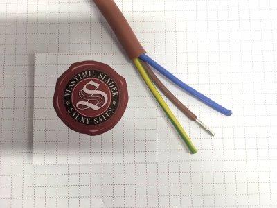 Kabel SIHF-J 3 x 1,5 mm