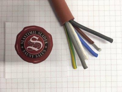 Kabel SIHF-J 5 x 2,5 mm
