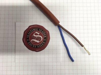 Kabel SIHF-O 2 x 1 mm