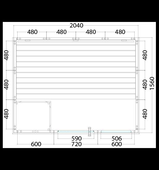 komfort small 208x158xx204 cm grundriss
