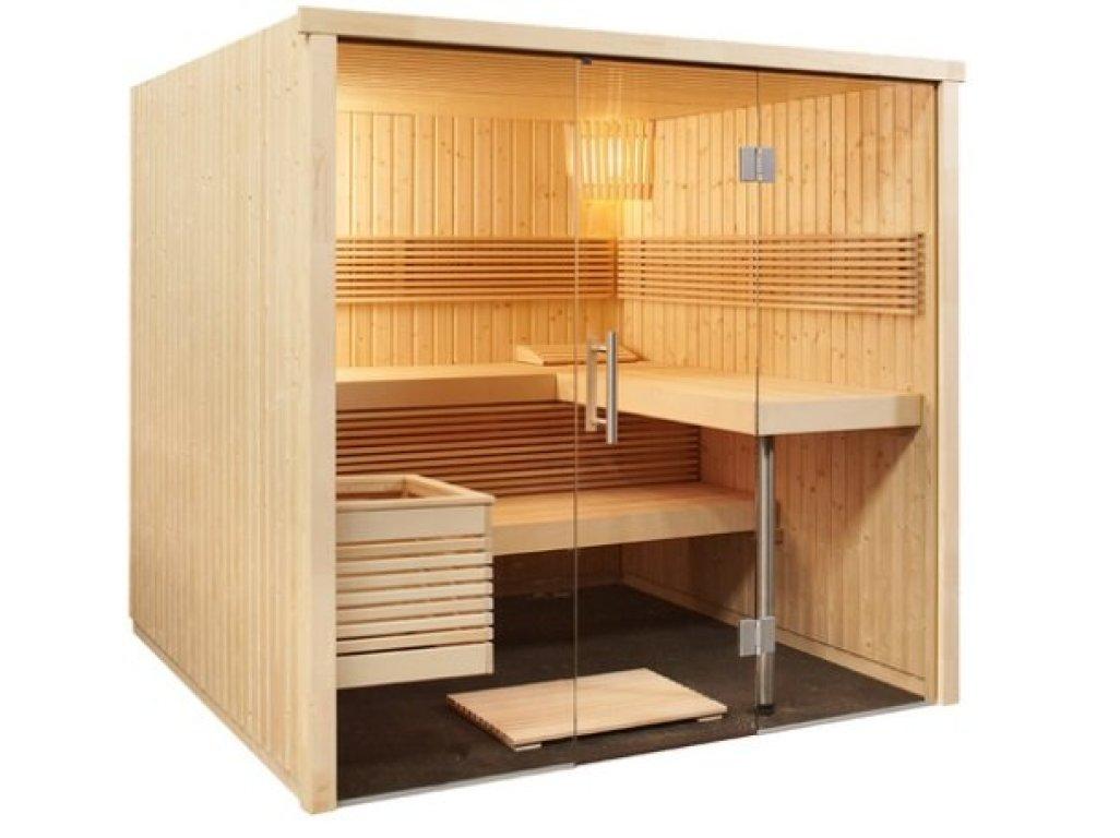 Finská sauna Panorama Large