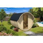 Venkovní sudova sauna 330